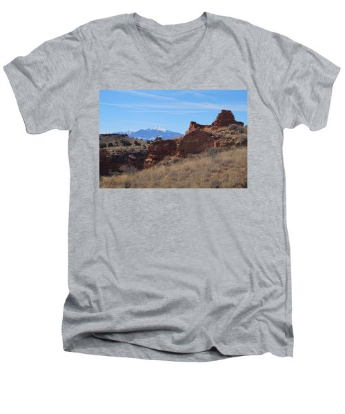 Time Passages Men's V-Neck T-Shirt
