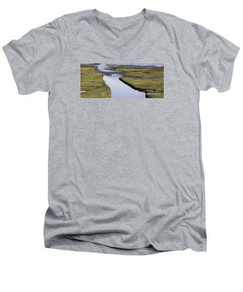 Tomales Marsh Men's V-Neck T-Shirt