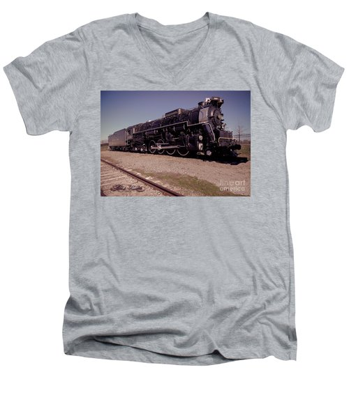 Train Engine #2732 Men's V-Neck T-Shirt