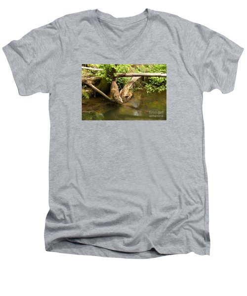 Trepidation Men's V-Neck T-Shirt