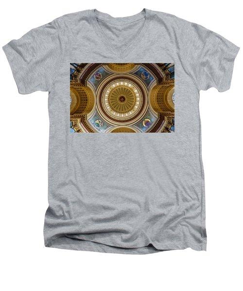 Under The Dome Men's V-Neck T-Shirt by Randy Scherkenbach