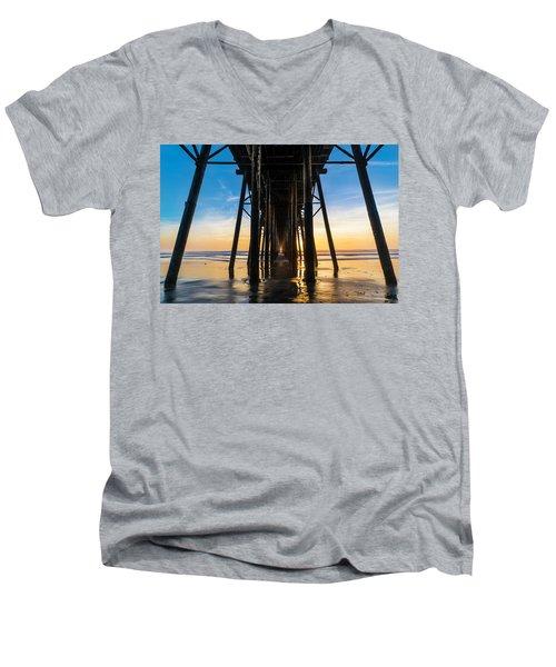 Under The Oceanside Pier Men's V-Neck T-Shirt