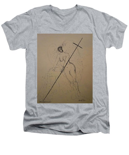 Unveiled Beauty Men's V-Neck T-Shirt