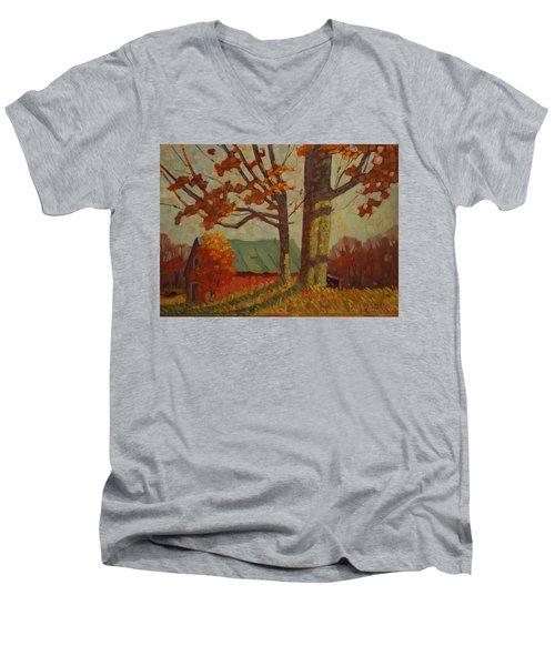 Upstate New York Men's V-Neck T-Shirt