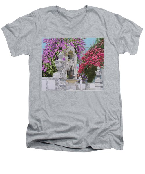 Vacation In Portugal Men's V-Neck T-Shirt
