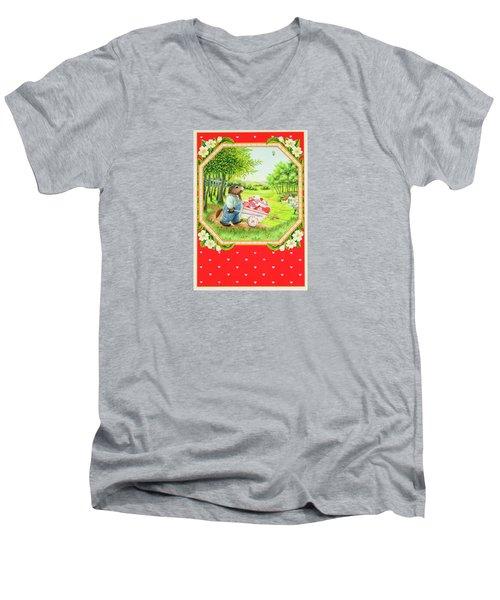 Valentine Delivery Men's V-Neck T-Shirt