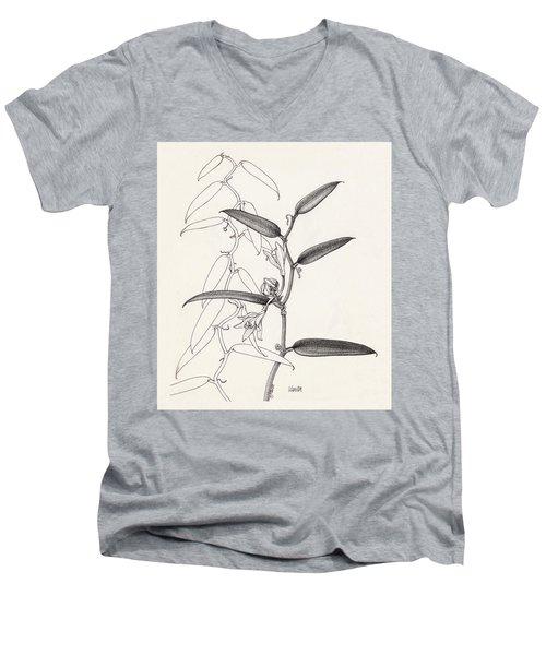 Vanilla Men's V-Neck T-Shirt