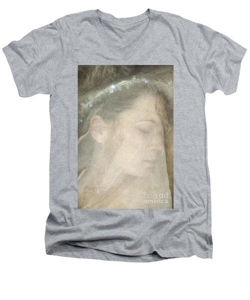 Veiled Princess Men's V-Neck T-Shirt