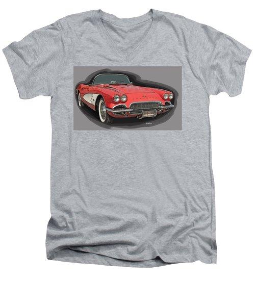 Vette Men's V-Neck T-Shirt