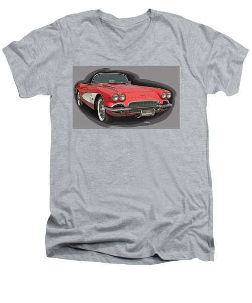 Vette Men's V-Neck T-Shirt