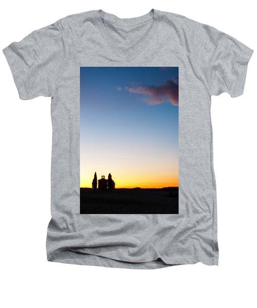 Vitaleta Chapel Men's V-Neck T-Shirt