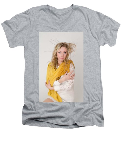 Vlada Men's V-Neck T-Shirt