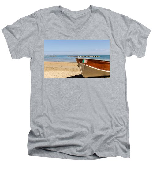 Waiting Summer Men's V-Neck T-Shirt