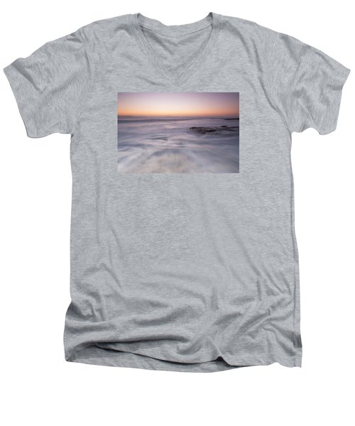 Warmth Men's V-Neck T-Shirt by Catherine Lau