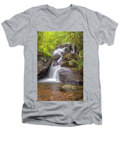 Waterfall Men's V-Neck T-Shirt
