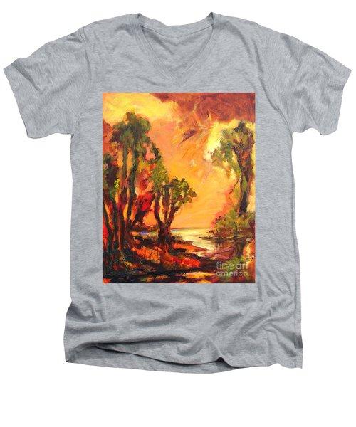 Waterway Men's V-Neck T-Shirt