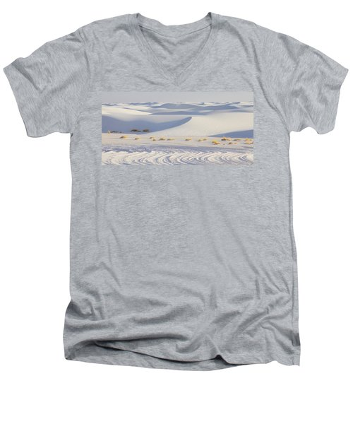 White Sands New Mexico Men's V-Neck T-Shirt