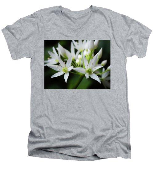 Wild Garlic Men's V-Neck T-Shirt