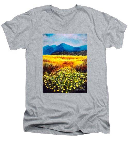 Wildflowers Men's V-Neck T-Shirt