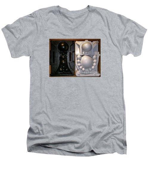 Willendorf Wedding Men's V-Neck T-Shirt by James Lanigan Thompson MFA
