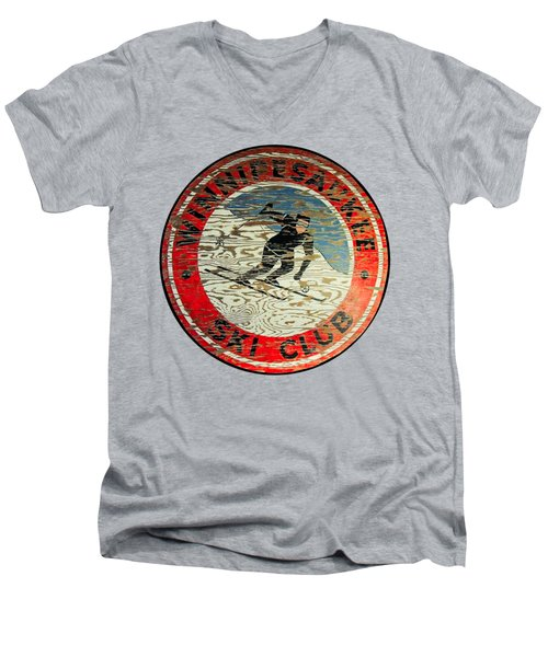 Winnipesaukee Ski Club Men's V-Neck T-Shirt