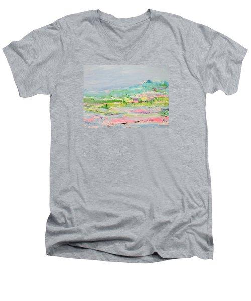 Wishing You Were Here Men's V-Neck T-Shirt
