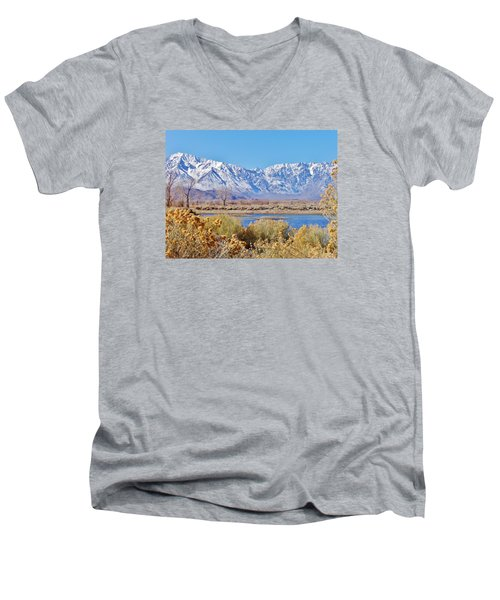 Wonderland Men's V-Neck T-Shirt