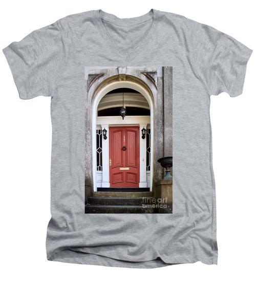 Wooden Door Savannah Men's V-Neck T-Shirt