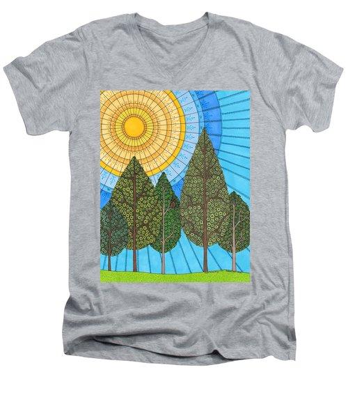 Yearning For Spring Men's V-Neck T-Shirt