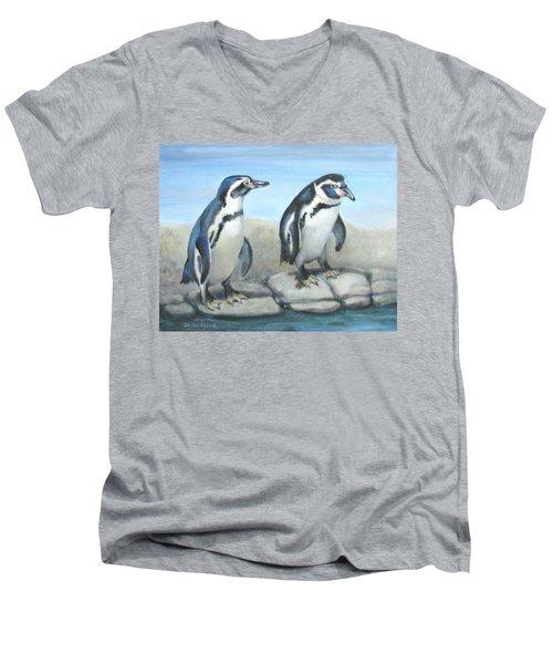 You First Men's V-Neck T-Shirt by Oz Freedgood
