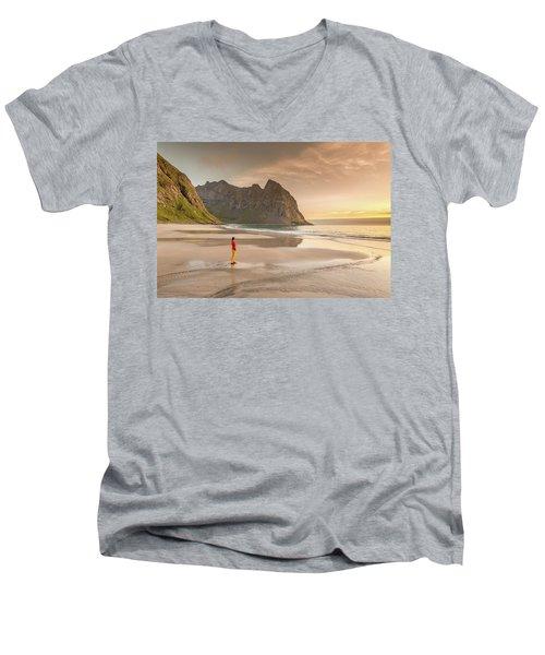 Your Own Beach Men's V-Neck T-Shirt