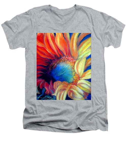 Your Passion Becomes My Passion Men's V-Neck T-Shirt by Antonia Citrino