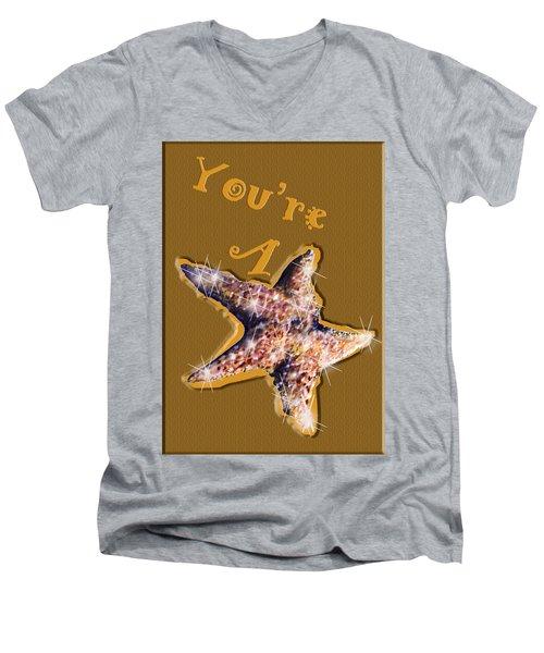 You're A Star  Men's V-Neck T-Shirt