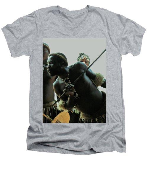 Zulu Warrior Men's V-Neck T-Shirt