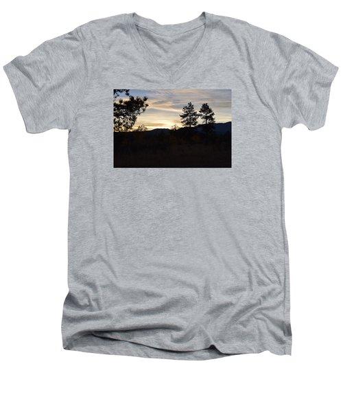 Sunrise Back Country Co Men's V-Neck T-Shirt