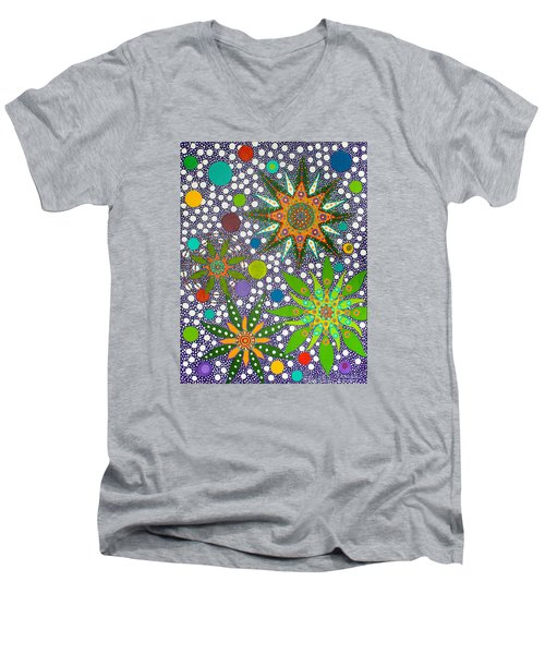 Ayahuasca Vision  Men's V-Neck T-Shirt