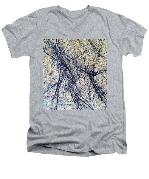 #10 Men's V-Neck T-Shirt