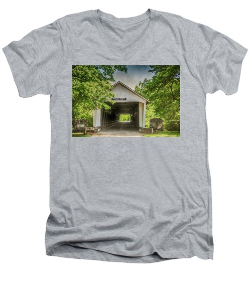 10700 Potter's Bridge Men's V-Neck T-Shirt