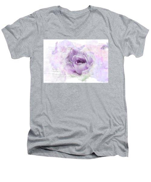 10947 Tulip Men's V-Neck T-Shirt