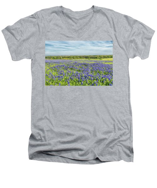 Texas Bluebonnets 11 Men's V-Neck T-Shirt