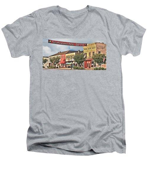 Downtown Perrysburg Men's V-Neck T-Shirt