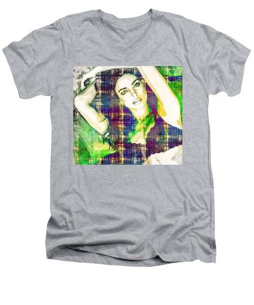 Irina Shayk Men's V-Neck T-Shirt