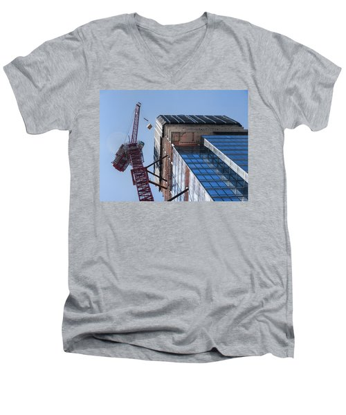 1355 1st Ave 7 Men's V-Neck T-Shirt