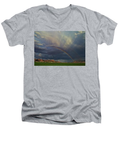 Bicknell Men's V-Neck T-Shirt