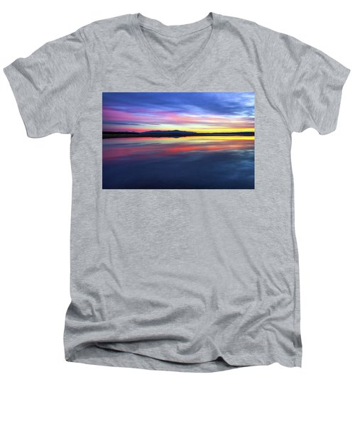 Lake Winnipesaukee - Layers Men's V-Neck T-Shirt