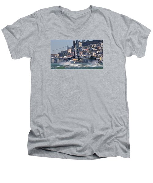 Oracle America's Cup Men's V-Neck T-Shirt