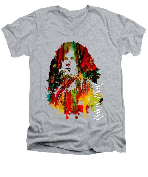 Robert Plant Collection Men's V-Neck T-Shirt