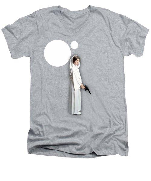 Star Wars Princess Leia Collection Men's V-Neck T-Shirt