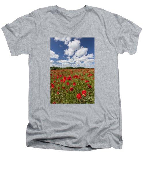 151124p076 Men's V-Neck T-Shirt