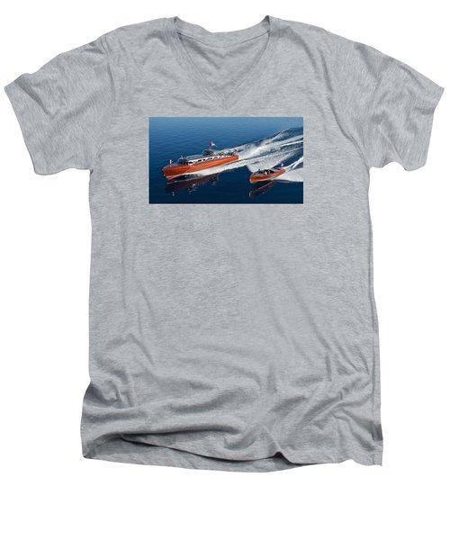 Tahoe Classics Men's V-Neck T-Shirt